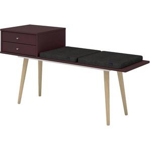 hammel Sitzbank »MISTRAL«, mit Schubladen und zwei Sitzkissen, Breite 133 cm, Danish Design