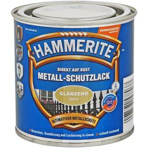 Hammerite Metallschutzlack Direkt auf Rost gold glänzend 250 ml