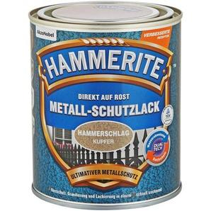 Hammerite Metallschutzlack Direkt auf Rost kupferfarben Hammerschlag-Effekt 750 ml