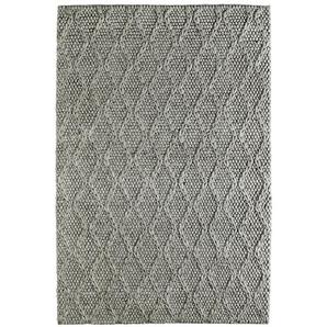 Handgefertigter Teppich Lockwood in Taupe