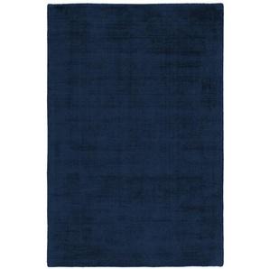 Handgefertigter Teppich Mcelroy in Dunkelblau