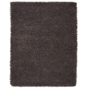 Handgefertigter Teppich Savell in Grau