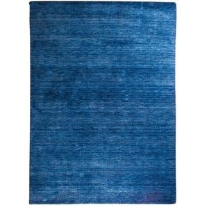 Handgefertigter Teppich Scorpio in Blau