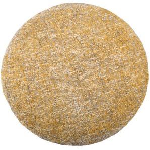 Handgewebter Teppich Barron in Beige/Gelb