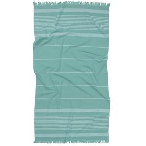 Handtuch Hamam, 90 X 160 Cm Aqua