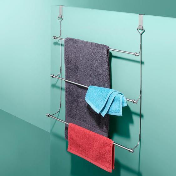Handtuchhalter - silber - Edelstahl -