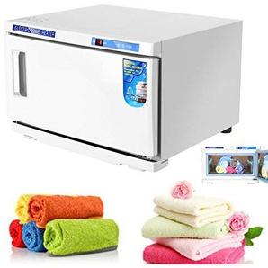 Handtuchsterilisator UV-Handtuchwärmer 2 in 1 Handtücher, 220 V, für Schönheitssalon, Studio, Spa, Haus, 16 l, Weiß