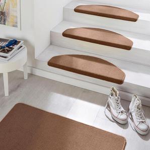 Hanse Home Stufenmatte »Fancy«, 15x 23x65 cm, 7 mm Gesamthöhe, braun