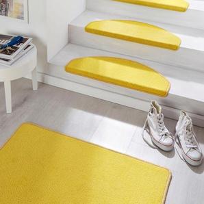 Hanse Home Treppenmatte »Fancy«, 15x 23x65 cm, 7 mm Gesamthöhe, gelb