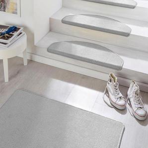Hanse Home Stufenmatte »Fancy«, 15x 23x65 cm, 7 mm Gesamthöhe, grau