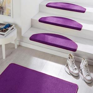 Hanse Home Stufenmatte »Fancy«, 15x 23x65 cm, 7 mm Gesamthöhe, lila