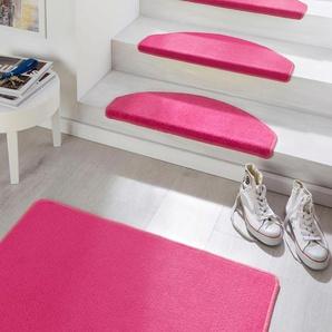 Hanse Home Stufenmatte  »Fancy«, 15x 23x65 cm, 7 mm Gesamthöhe, rosa