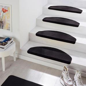 Hanse Home Stufenmatte »Fancy«, 15x 23x65 cm, 7 mm Gesamthöhe, schwarz