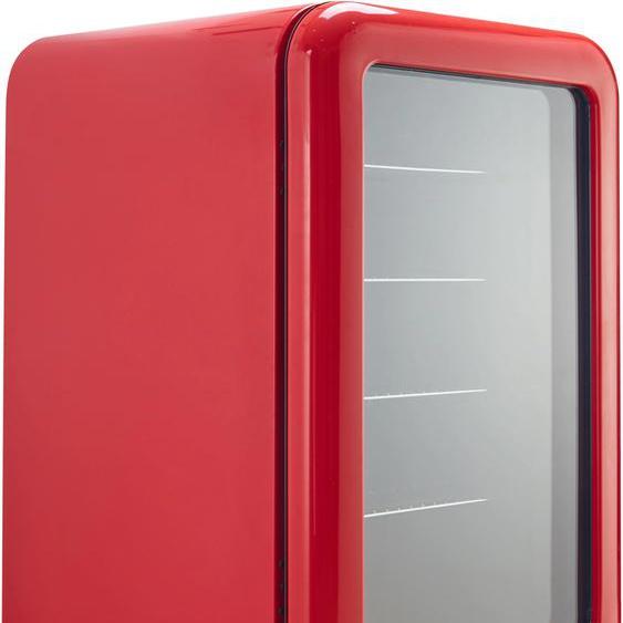 Hanseatic Getränkekühlschrank HBC115FRRH red F (A bis G) Einheitsgröße rot Kühlschränke SOFORT LIEFERBARE Haushaltsgeräte