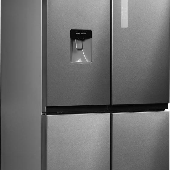 Hanseatic Multi Door HCD17884A2I E (A bis G) TOPSELLER Einheitsgröße silberfarben Kühlschränke SOFORT LIEFERBARE Haushaltsgeräte