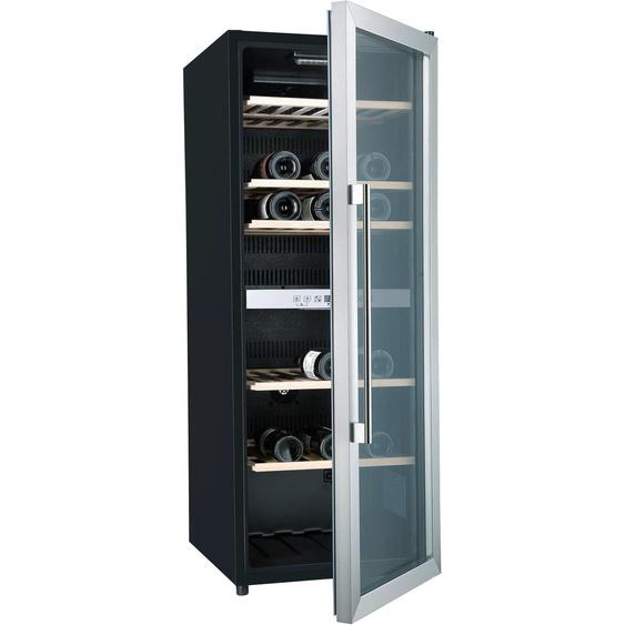 Hanseatic Weinkühlschrank HWC77GCIA, für 77 Standardflaschen á 075l G (A bis G) Einheitsgröße schwarz Kühlschränke SOFORT LIEFERBARE Haushaltsgeräte