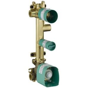 hansgrohe Grundkörper für Thermostatmodul Unterputz 38 x 12 für 3 Verbraucher - 36708180