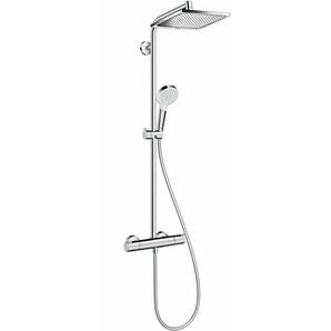 Showerpipe CROMETTA E 240 1JET DN 15 EcoSmart 9 l/min chrom 27281000 - Hansgrohe