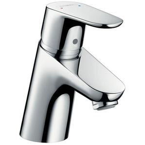 HANSGROHE Waschtischarmatur »Focus 70«, Wasserhahn mit Klick Klack Push Open Ablauf