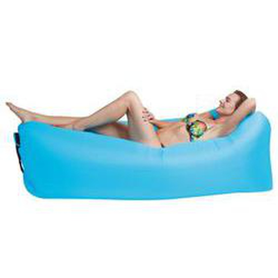 Happy People Lounger to go 2.0, blau
