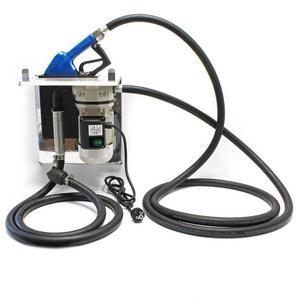 AdBlue® selbstansaugende Förderpumpe 40l/min 230V/400W mit Zapfpistole V2A, Zählwerk und Grundplatte - WILTEC