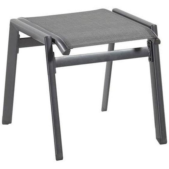 Hartman Aruba Hocker Aluminium/Textilene Dunkelgrau