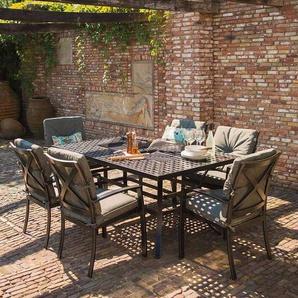 Hartman Jamie Oliver Sitzgruppe Sessel 7tlg Tisch 180cm Riven Grey