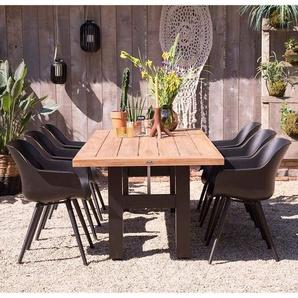 Hartman Sophie Studio Gartenmöbelset 7tlg. Tisch 240x100cm Schwarz