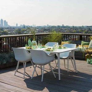 Hartman Sophie Studio Sitzgruppe Sessel 5tlg Tisch 170cm Weiß