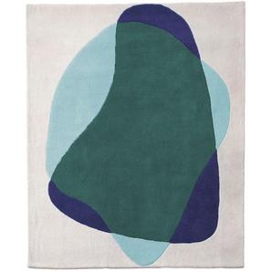 Harto - Serge Teppich - grünblau - indoor