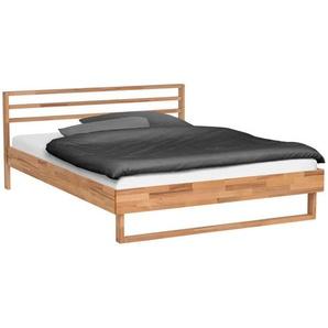 Hasena Bett , Kernbuche , Holz , Kernbuche , massiv , 160x200 cm , in verschiedenen Größen erhältlich , Schlafzimmer, Betten, Doppelbetten
