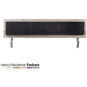 Hasena Top-Line Kissen Arona 120 cm / PK2 Kunstleder 312 black