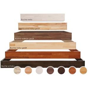 Hasena Wood-Line Bettrahmen Classic 16 Massivholz 140x200 cm / Kernbuche natur