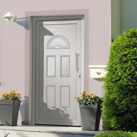 Haustür Weiß 110x210 cm
