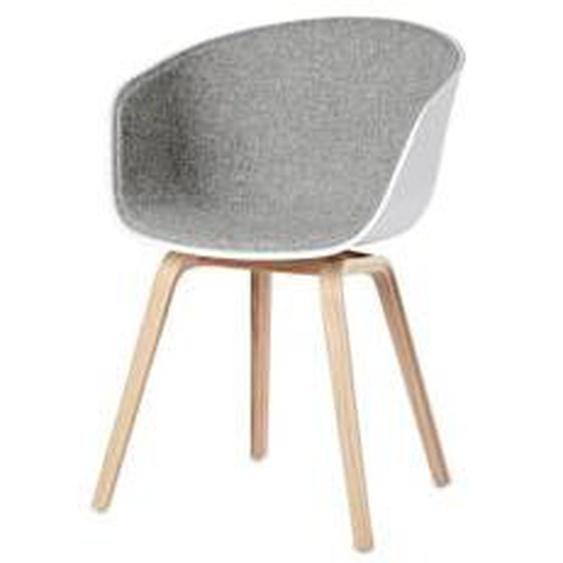 HAY - About A Chair AAC 22, Eiche geseift, weiß / hellgrau (Remix 123)