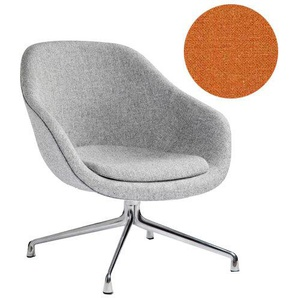 HAY - About A Lounge Chair Low AAL 81 - Remix 543 - Aluminium poliert