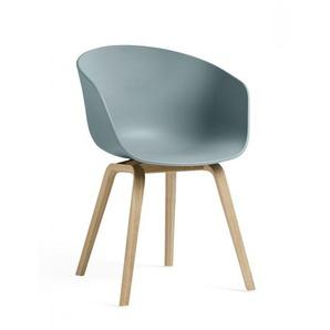 HAY Armlehnstuhl About A Chair AAC22 blau, Designer Hee Welling & HAY