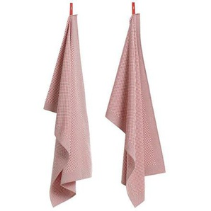 HAY - Geschirrtuch - Check pink - indoor