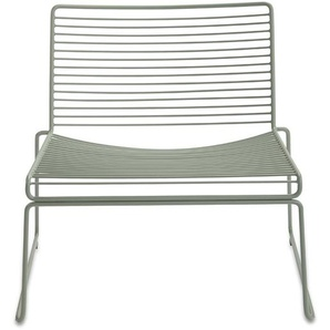 HAY - Hee Lounge Chair - army - outdoor