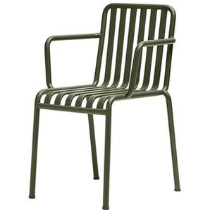 HAY - Palissade Arm Chair - olive - outdoor