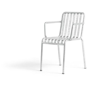 HAY - Palissade Armchair - hot galvanized - outdoor