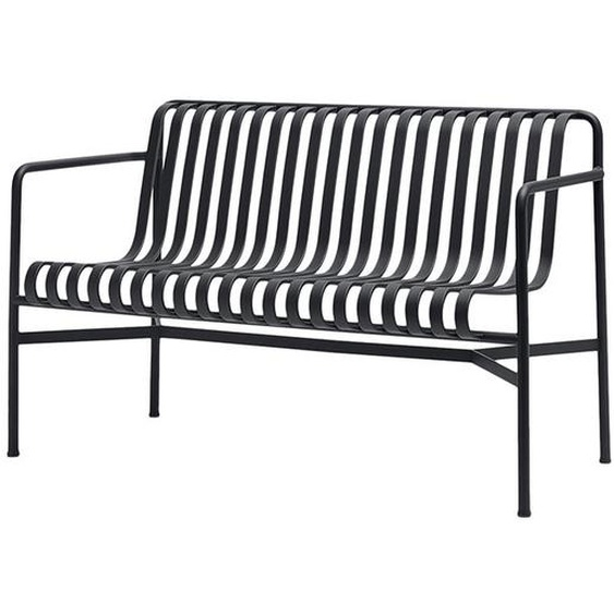 HAY - Palissade Dining Bench - anthracite - outdoor