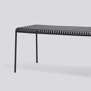 HAY - Palissade Tisch - anthracite - 160 x 80 cm - outdoor