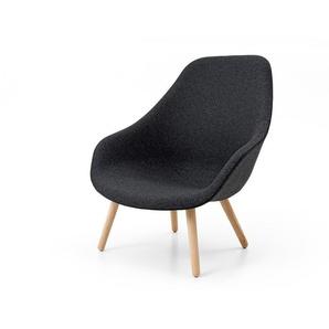 HAY Sessel About A Lounge Chair AAL grau, Designer Hee Welling & HAY