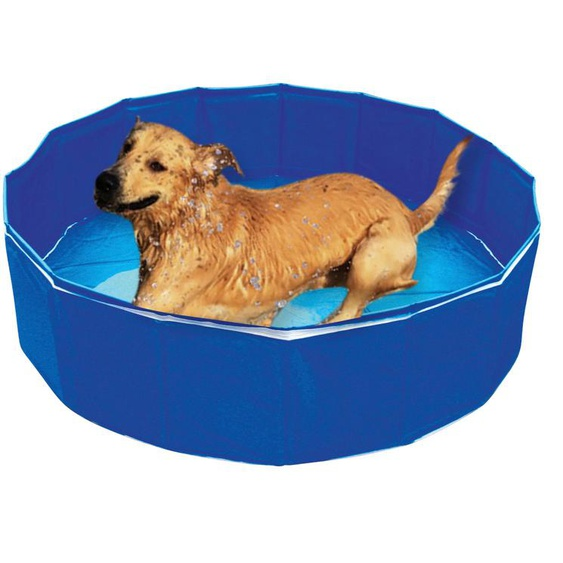 HEIM Planschbecken Hundepool Outdoor-Dog, ØxH: 120x30 cm H: 30 blau Pools Garten Balkon
