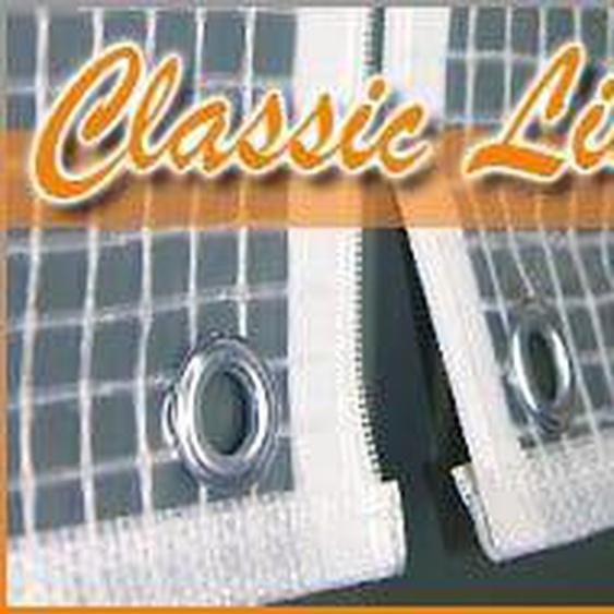Heinemeyer Abdeckhaube f. Summerland Lounge Gitterfolie transparent Weiß