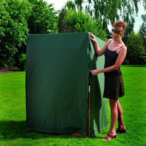Heinemeyer Schutzhülle 125x90x160/139cm für Strandkorb, mit 2 Reißverschlüssen, Teak-Safe grün Grün