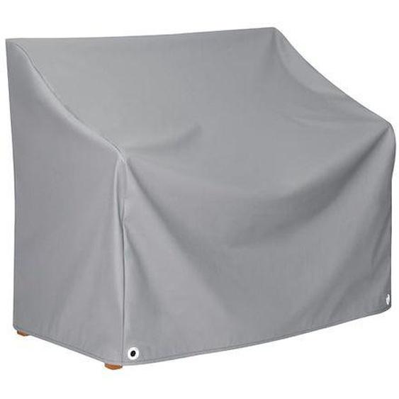 Heinemeyer Schutzhülle 130x63x65/83cm für 2er-Bank, Teak-Safe grau Dunkelgrau