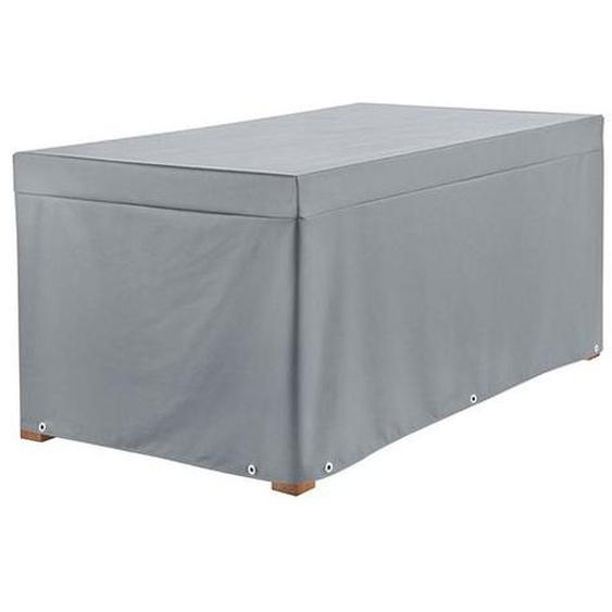 Heinemeyer Schutzhülle 160x95cm für Tische Teak-Safe Dunkelgrau