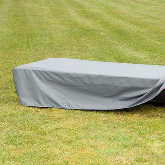 Heinemeyer Schutzhülle 70x210x35cm für Rollliege Teak-Safe grau Hellgrau